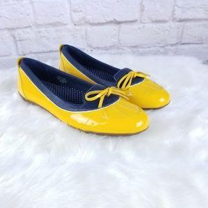 LL bean coastal skimmer duck shoes size 8 rain